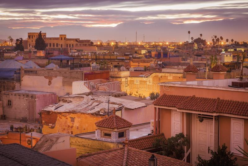 Medina του Μαρακές στοκ φωτογραφία με δικαίωμα ελεύθερης χρήσης