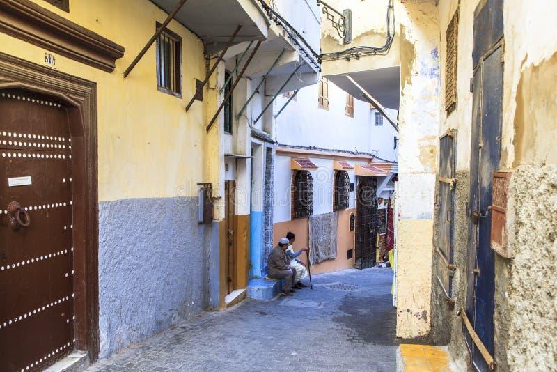 Medina av Tangier, Marocko royaltyfria bilder