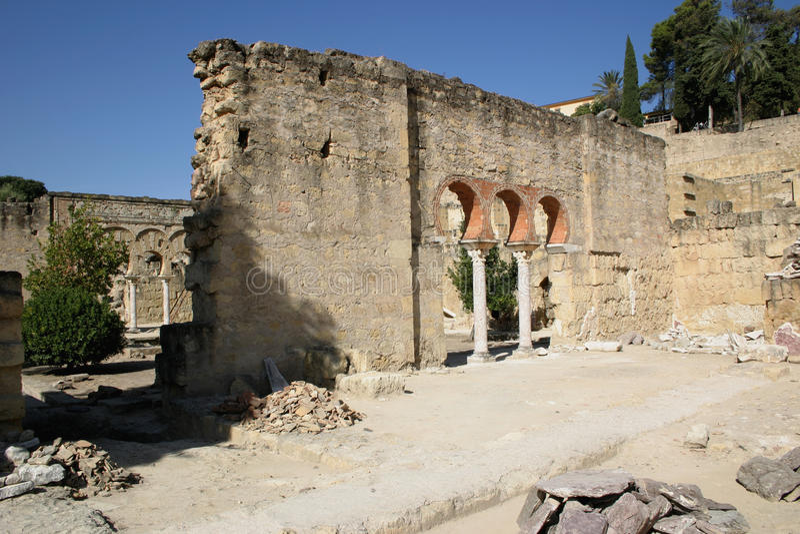 Medina Azahara zdjęcie royalty free