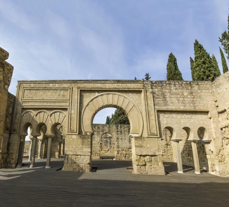 Medina Azahara cordoba obraz stock
