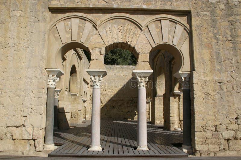 Medina Azahara w cordobie obraz royalty free