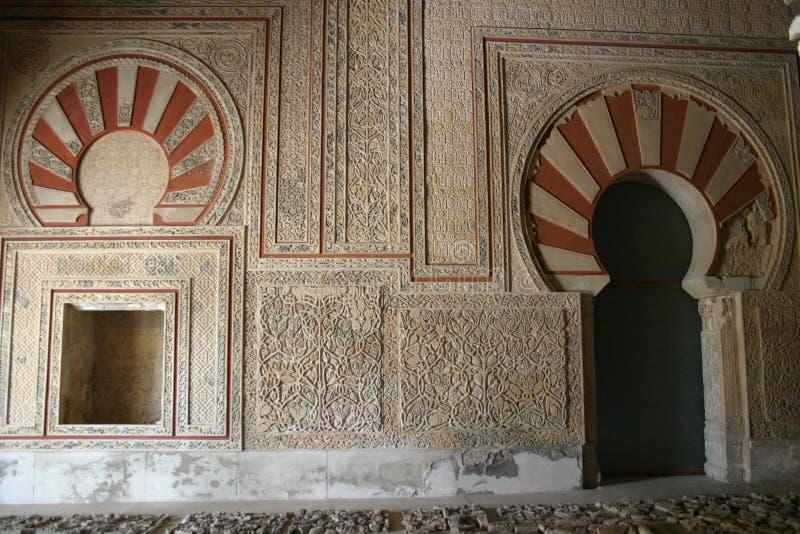 Medina Azahara w cordobie obraz stock
