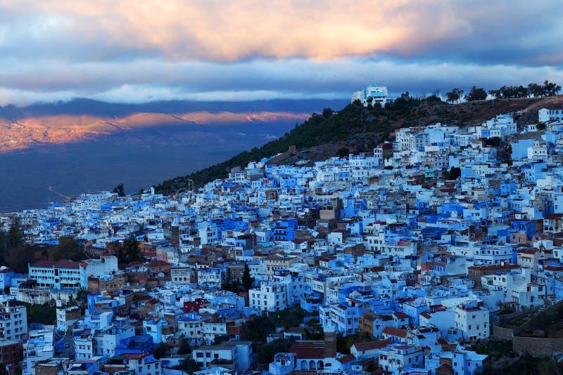 Medina Chefchaouen, Maroko obrazy royalty free