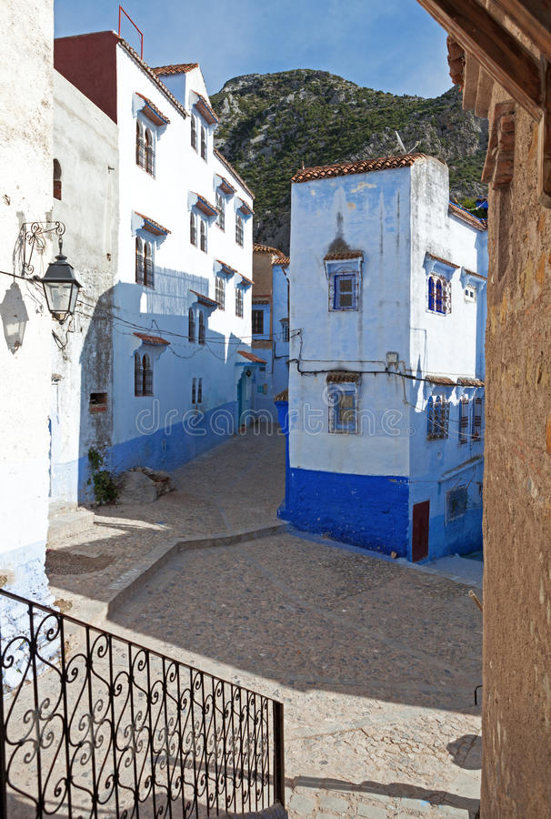 Medina, Chefchaouen, Marruecos fotos de archivo