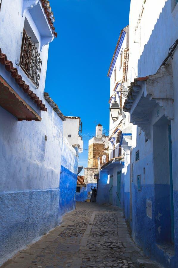 Medina of Chefchaouen, Morocco. The Medina de Chefchaouen - also known as Chaouen or Xauen - is a small and calm evironment.When entering one of the five stock photos