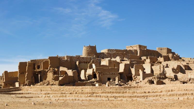 Medina (cidade velha) de Ghat, Líbia fotos de stock royalty free
