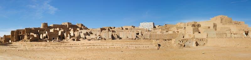 Medina (cidade velha) de Ghat, Líbia foto de stock