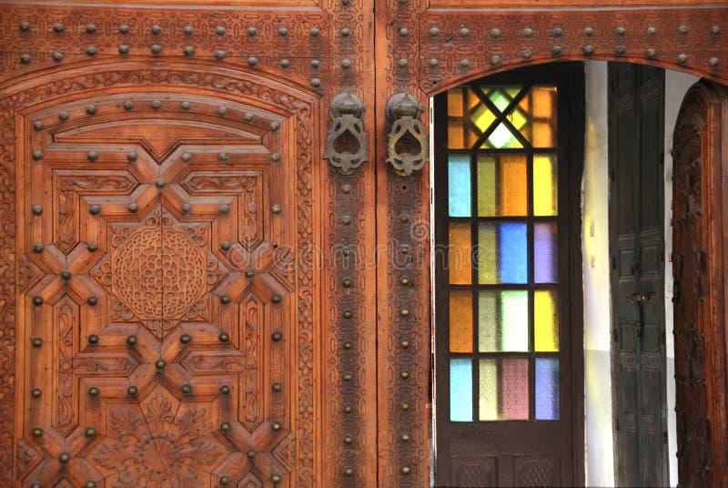 medina décoré Maroc de Marrakech de trappe photos libres de droits