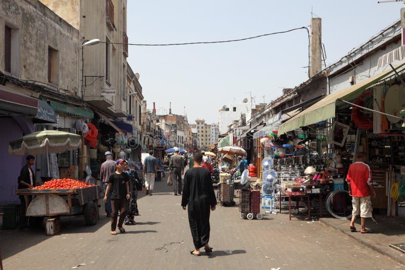 Medina de Casablanca, Marruecos foto de archivo