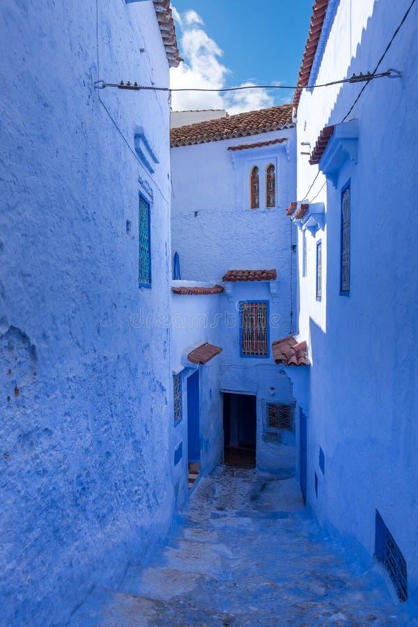 Medina de Chefchaouen, Marruecos fotos de archivo
