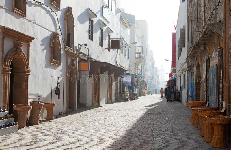 Medina de Essaouira fotografía de archivo libre de regalías