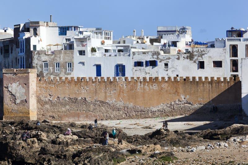 Medina de Essaouira em Marrocos fotografia de stock