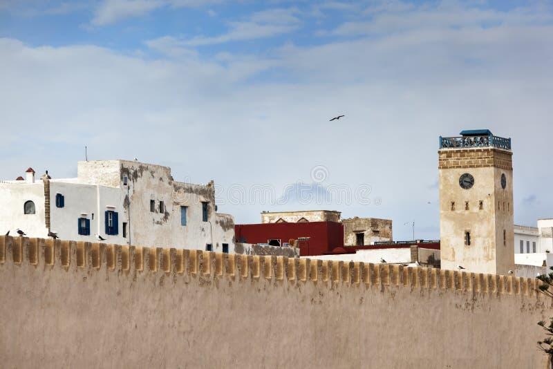 Medina de Essaouira em Marrocos fotografia de stock royalty free