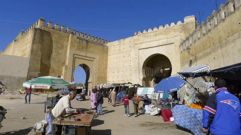 Medina de Fes, Marrocos fotos de stock royalty free
