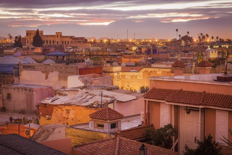 Medina de Marrakesh fotografía de archivo libre de regalías