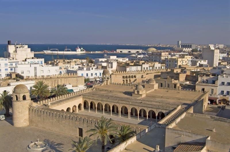 Medina de Sousse, Tunisie images libres de droits