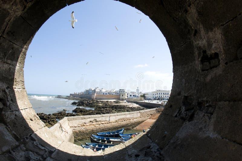 medina e essaouira velho Marrocos África da cidade fotografia de stock royalty free