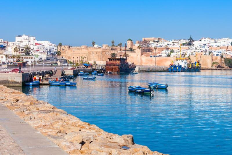 Medina em Rabat foto de stock