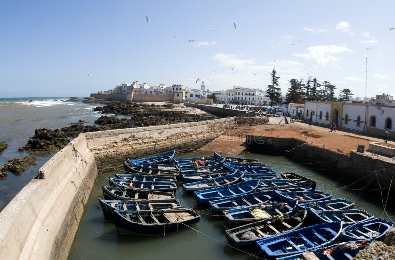 medina en oude stadsessaouira Marokko Afrika stock afbeelding