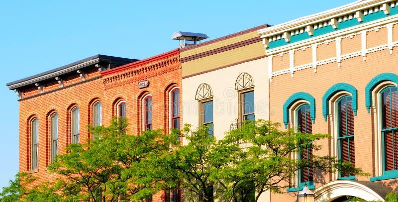 Medina facades stock photography