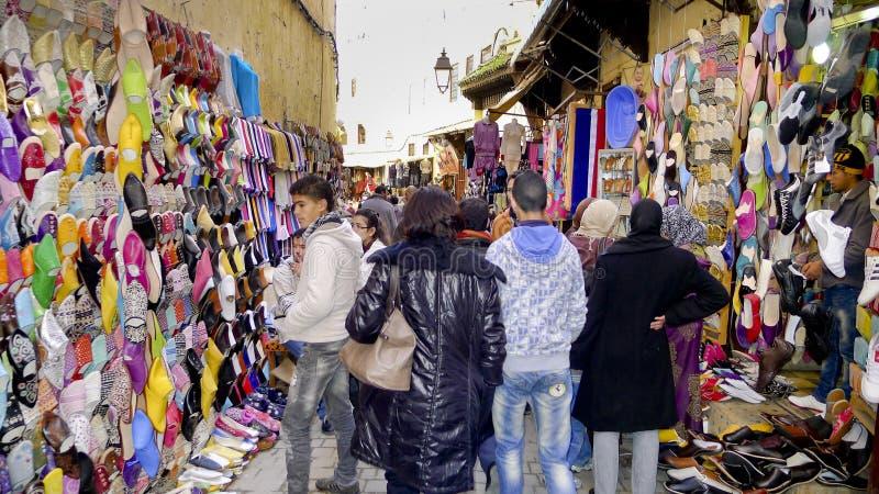 Medina Fes, Μαρόκο στοκ φωτογραφίες με δικαίωμα ελεύθερης χρήσης