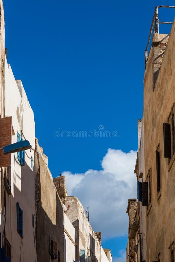 Medina i Essaouira royaltyfria bilder