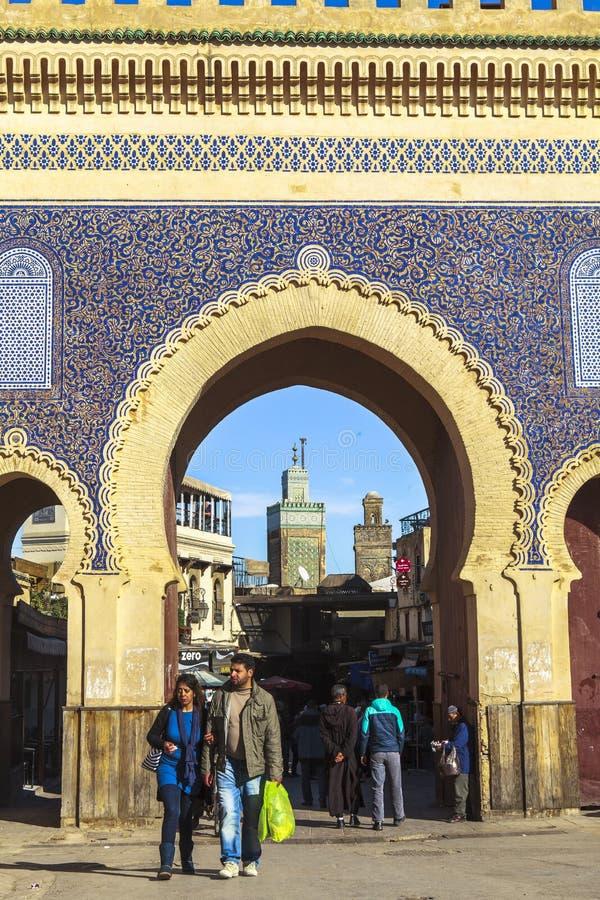 medina Maroc de fes images stock