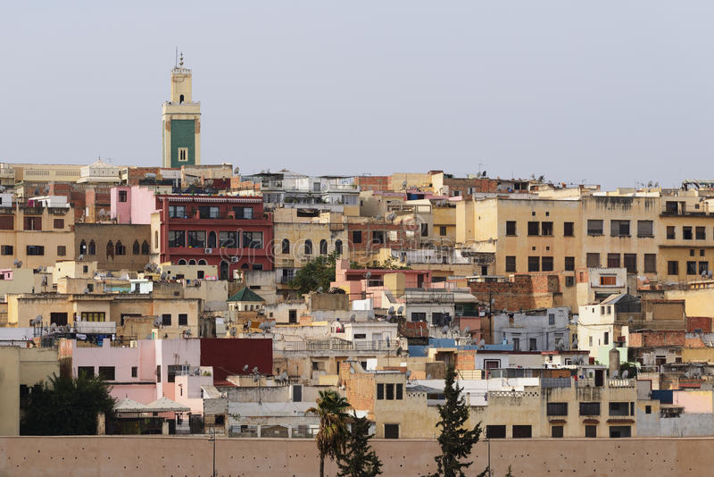 Medina Meknes, Марокко стоковая фотография