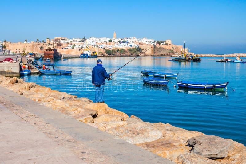 Medina in Rabat stock fotografie