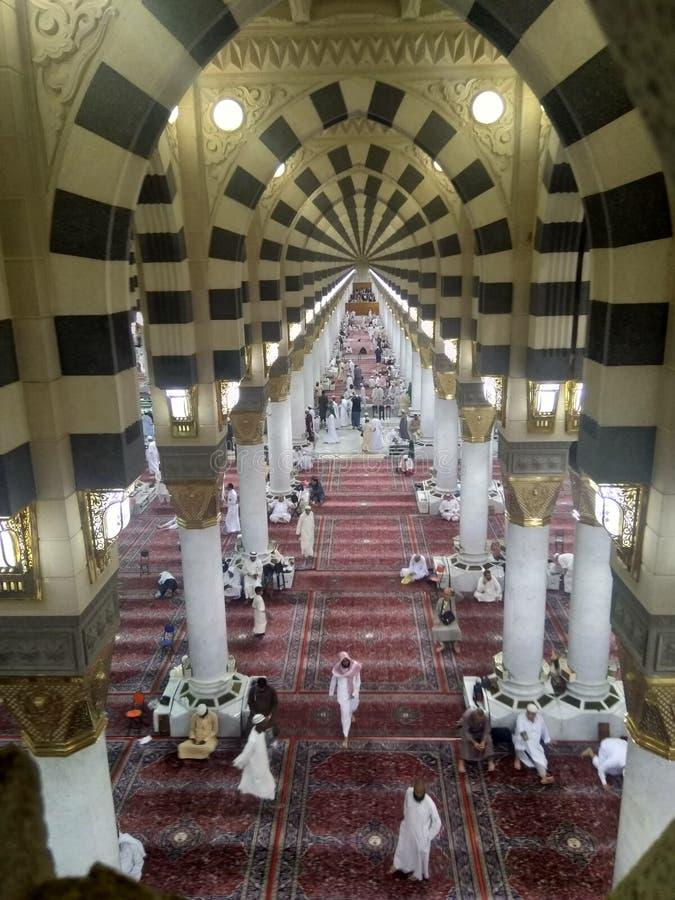 Medina ramadan1439 imagen de archivo libre de regalías
