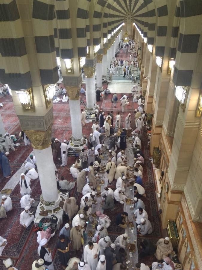 Medina ramadan1439 imágenes de archivo libres de regalías