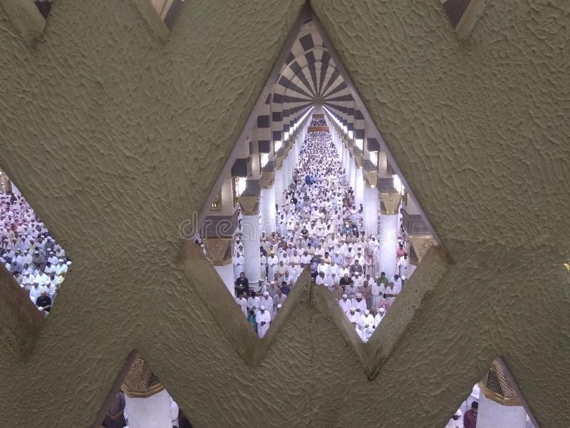 Medina ramadan1439 fotografía de archivo libre de regalías