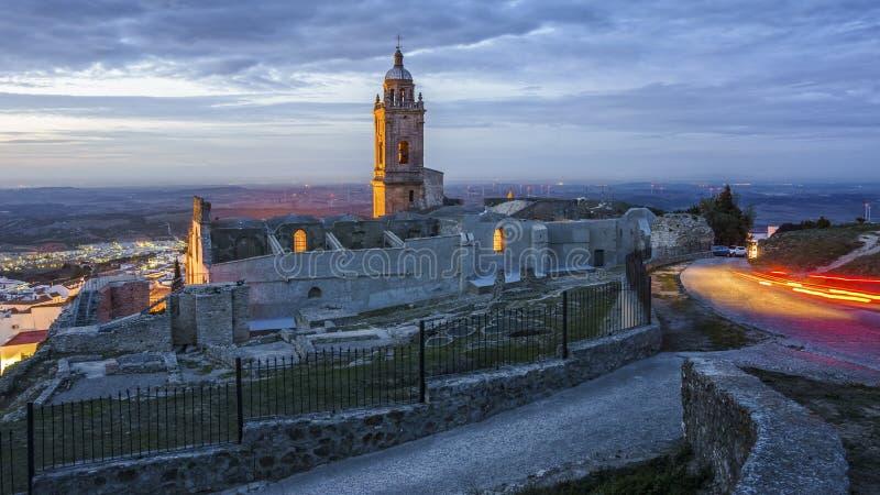 Vejer de la Frontera Cadiz Andalusia Spain stock photo