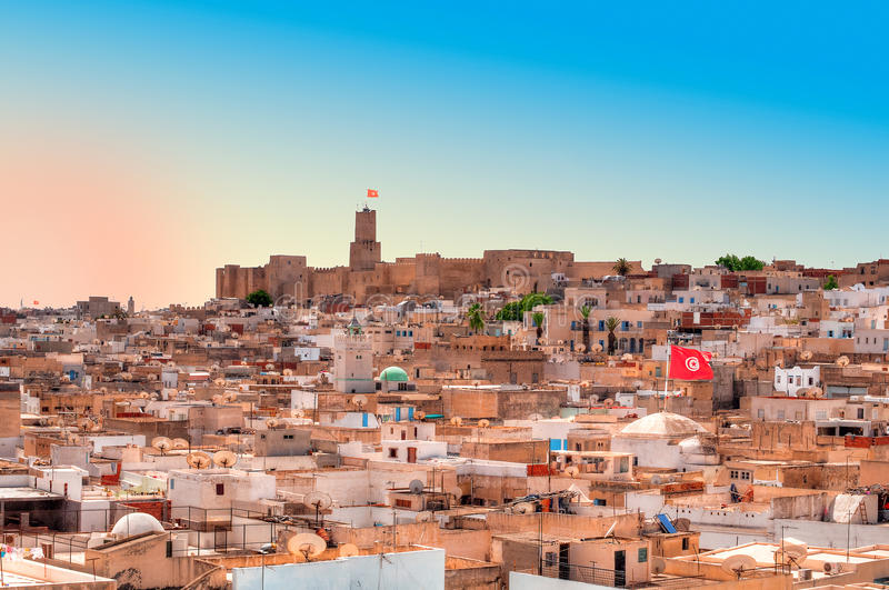 Medina in Sousse royalty free stock photos