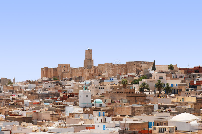 Download Medina of Sousse, Tunisia stock image. Image of ancient - 5639231