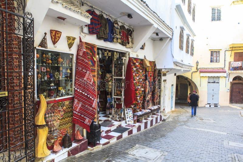 Medina in Tangier, Morocco royalty free stock photo