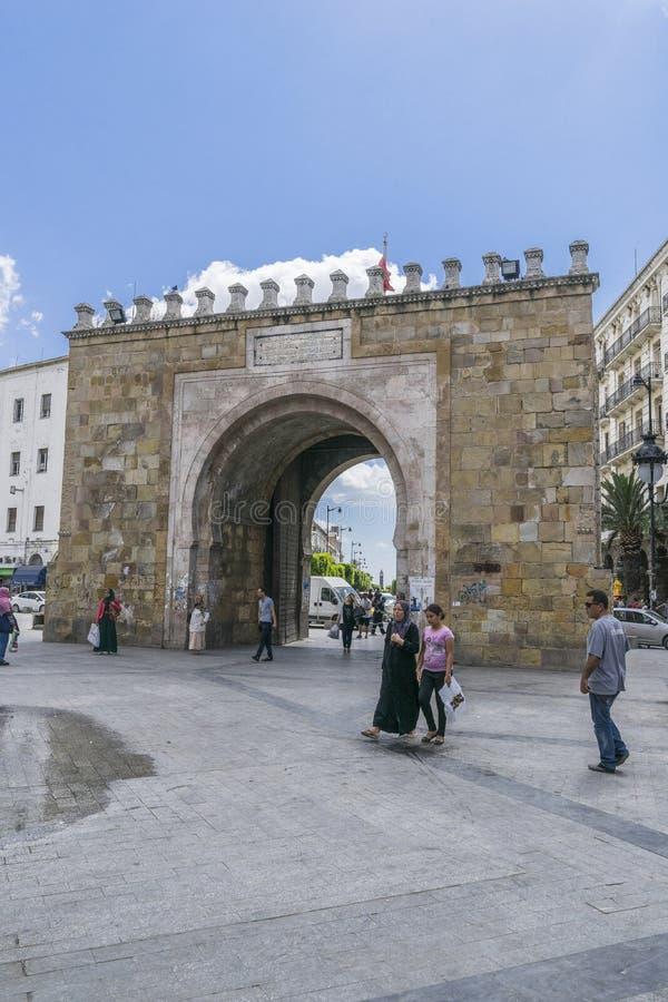 Medina in Tunis royalty-vrije stock fotografie