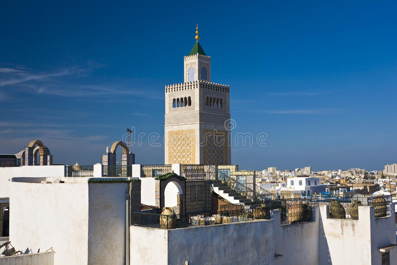The medina of Tunis royalty free stock image