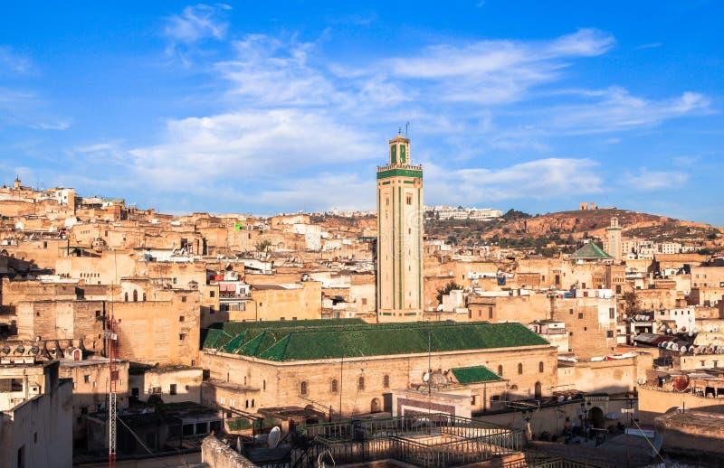 Medina van Fez in Marokko royalty-vrije stock foto