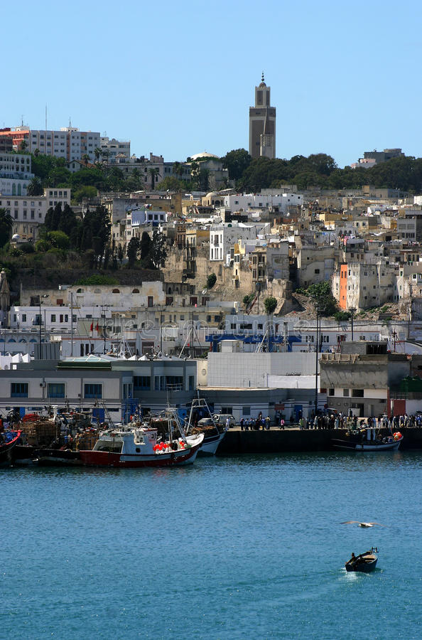 Medina van Marokko Tanger stock fotografie