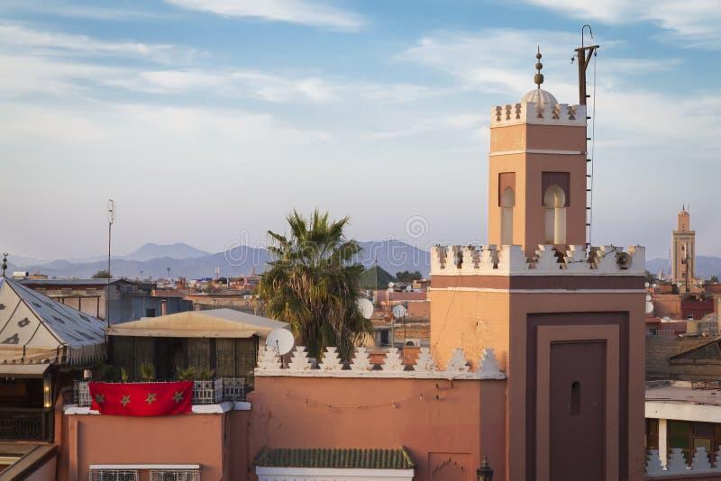 Medina van Marrakech stock afbeeldingen
