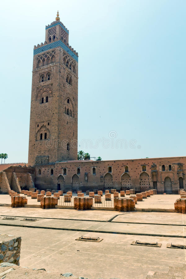 Medina van Marrakech stock foto