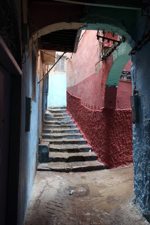 Medina van Tanger, Marokko stock foto