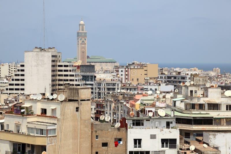 Medina von Casablanca, Marokko stockbild