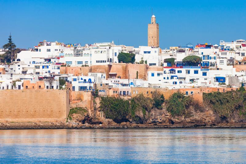 Medina w Rabat fotografia stock