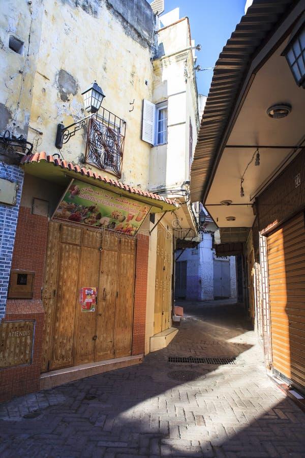 Medina w Tangier, Maroko obrazy royalty free
