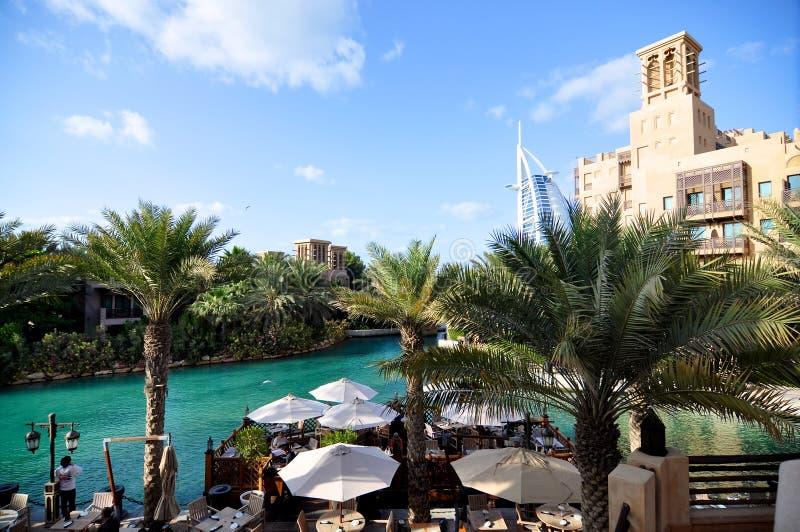 Medinat Dubai royalty free stock photography