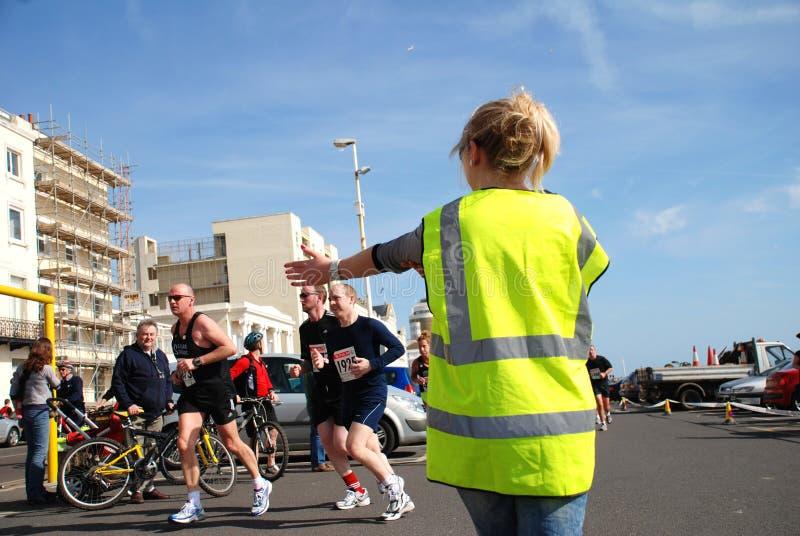 Medio maratón de Hastings imagen de archivo libre de regalías