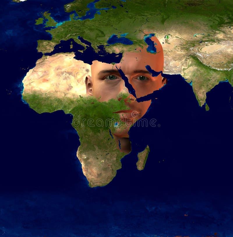 Medio Oriente illustrazione vettoriale