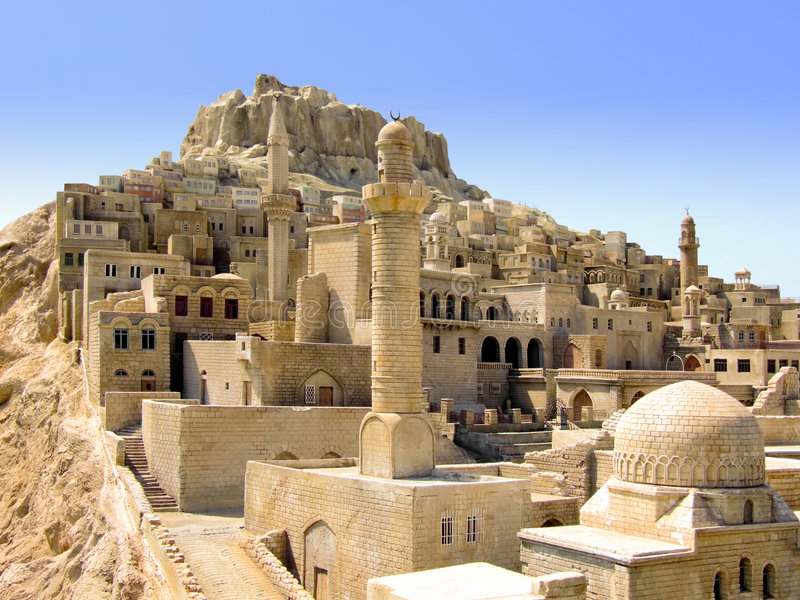 Medio Oriente immagine stock
